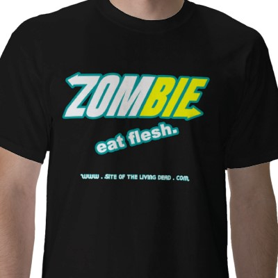 Subway Spoof - Zombie - Eat Flesh - Funny Picture