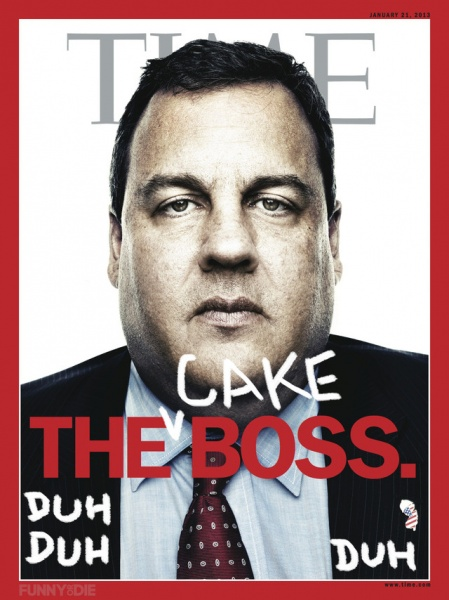 Chris Christie - the Cake Boss - Jokes