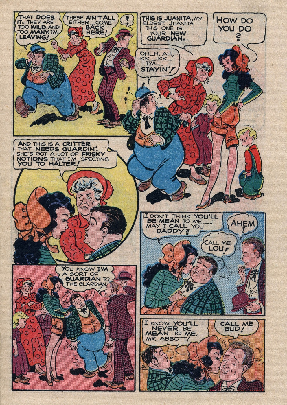 Funny Comic Strips - Abbott and Costello 001 (Feb 1948) 13