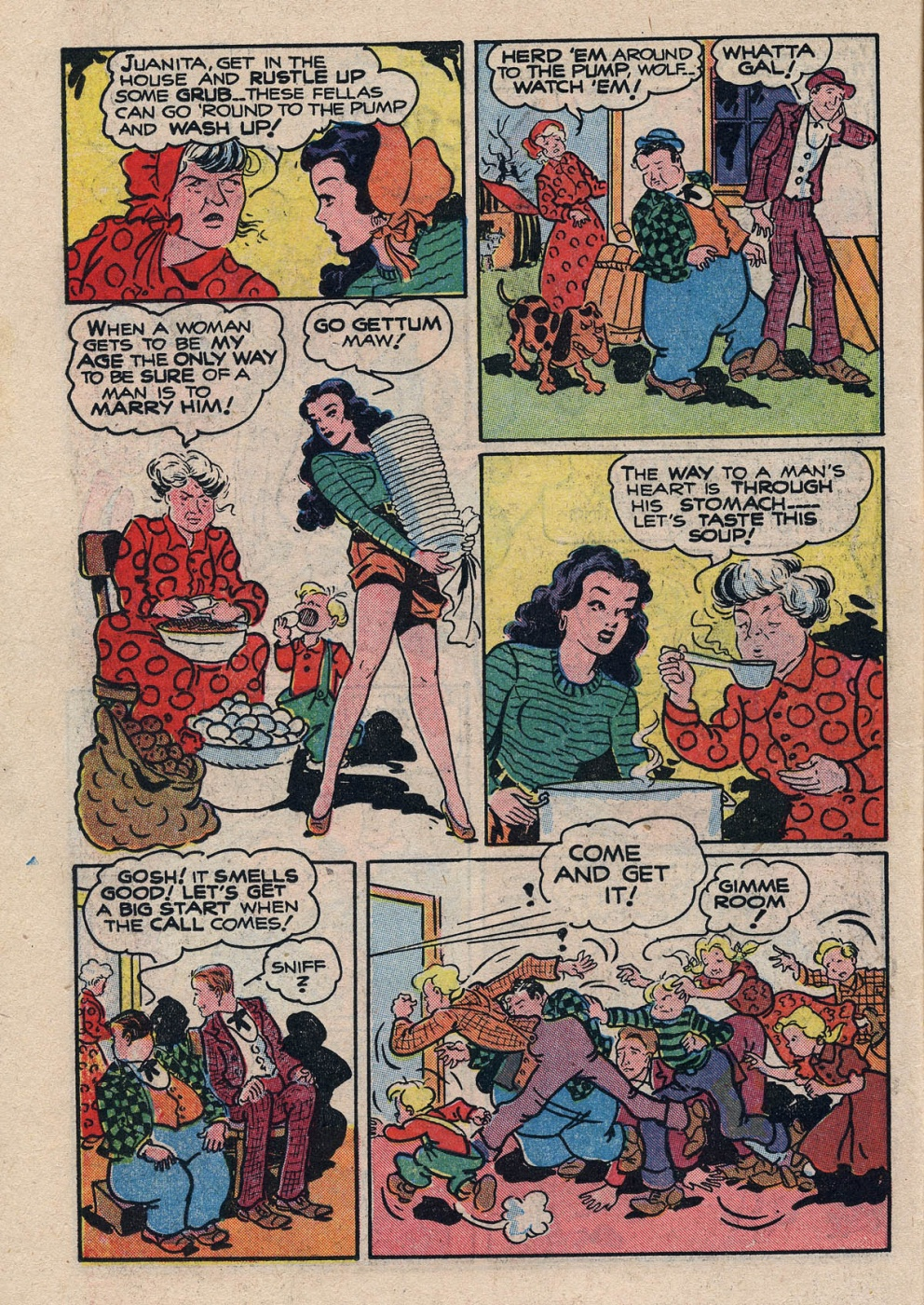 Funny Comic Strips - Abbott and Costello 001 (Feb 1948) 14