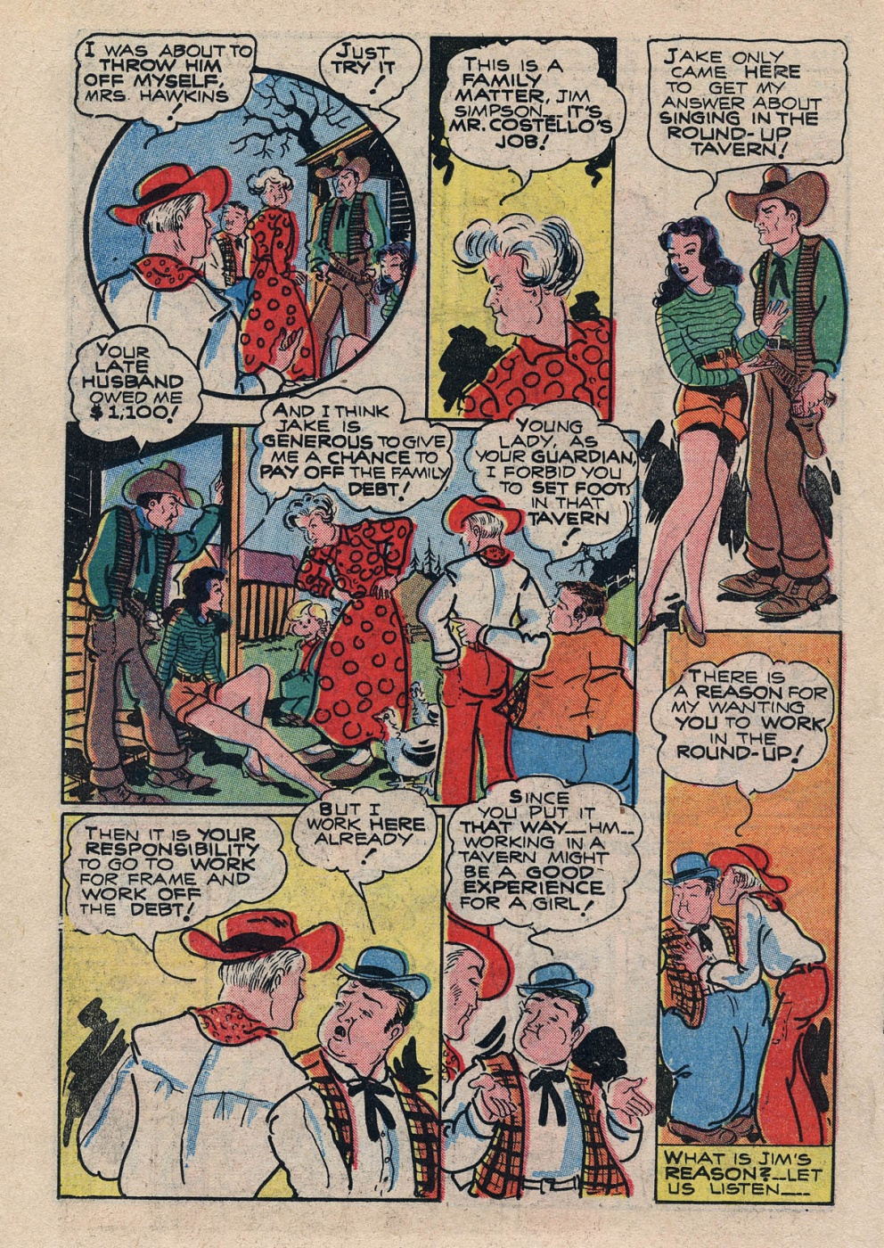 Funny Comic Strips - Abbott and Costello 001 (Feb 1948) 26