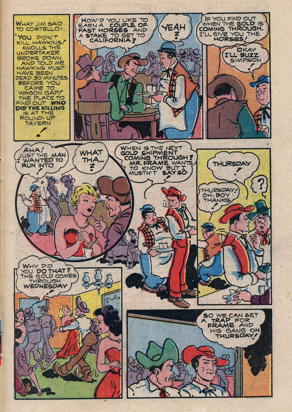 Funny Comic Strips - Abbott and Costello 001 (Feb 1948) 27