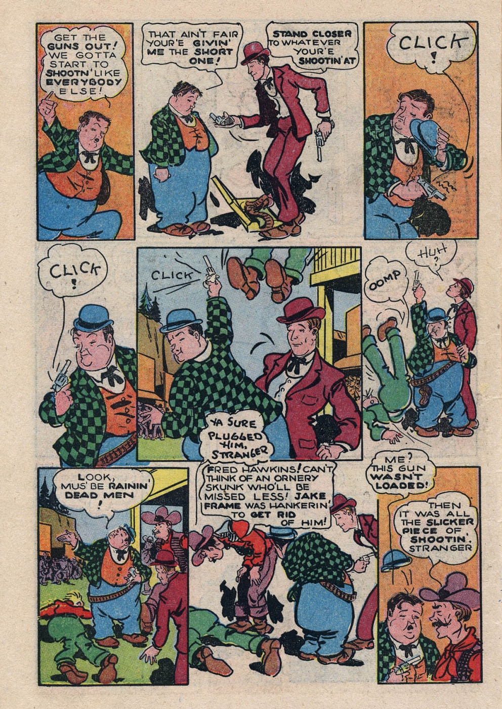 Funny Comic Strips - Abbott and Costello 001 (Feb 1948) 6