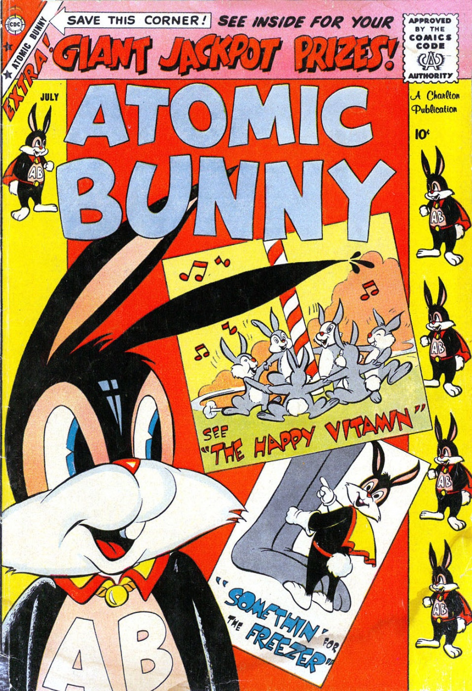 Comic Strips: Atomic Bunny #3