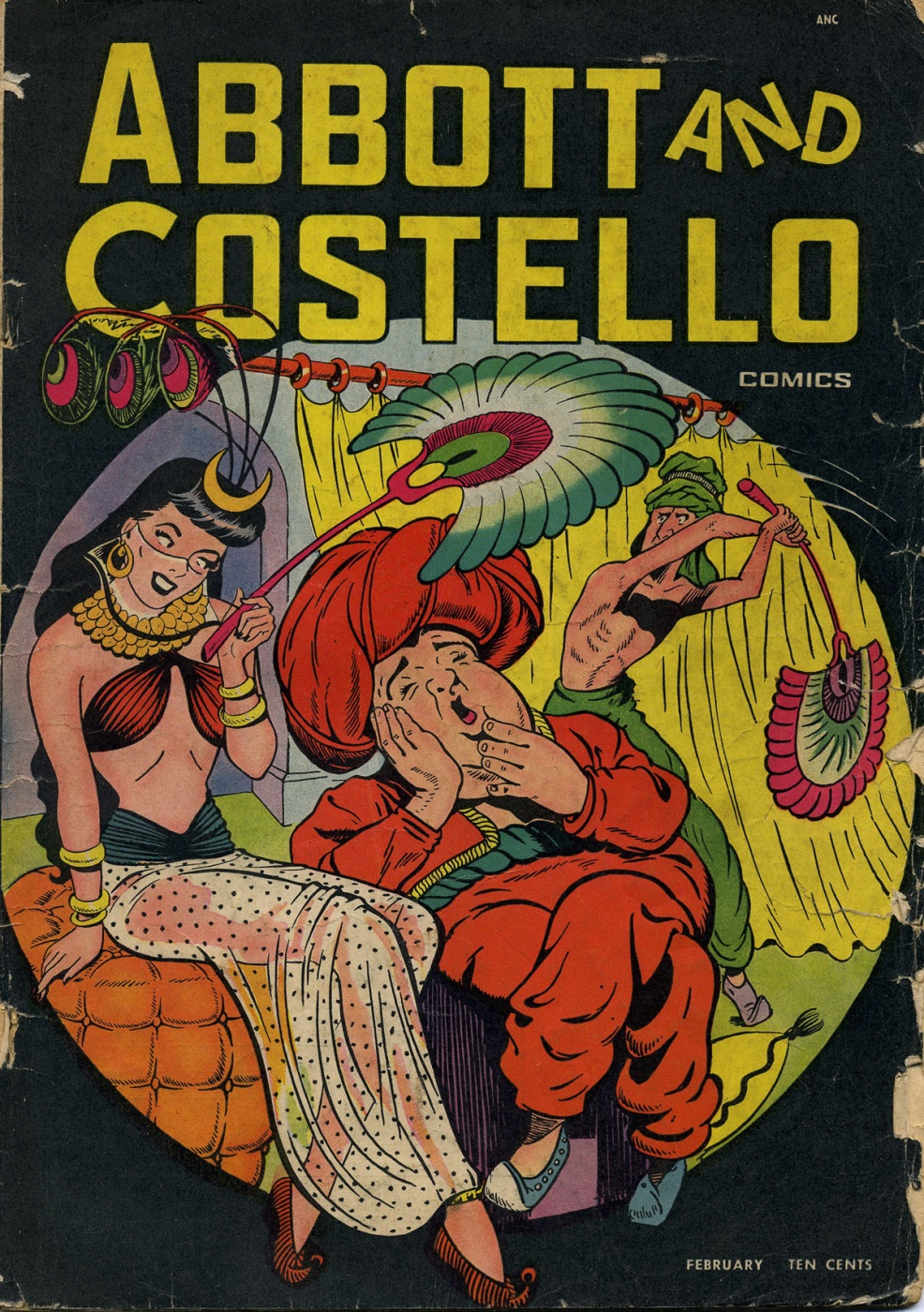 Funny Comic Strips: Abbot and Costello #5