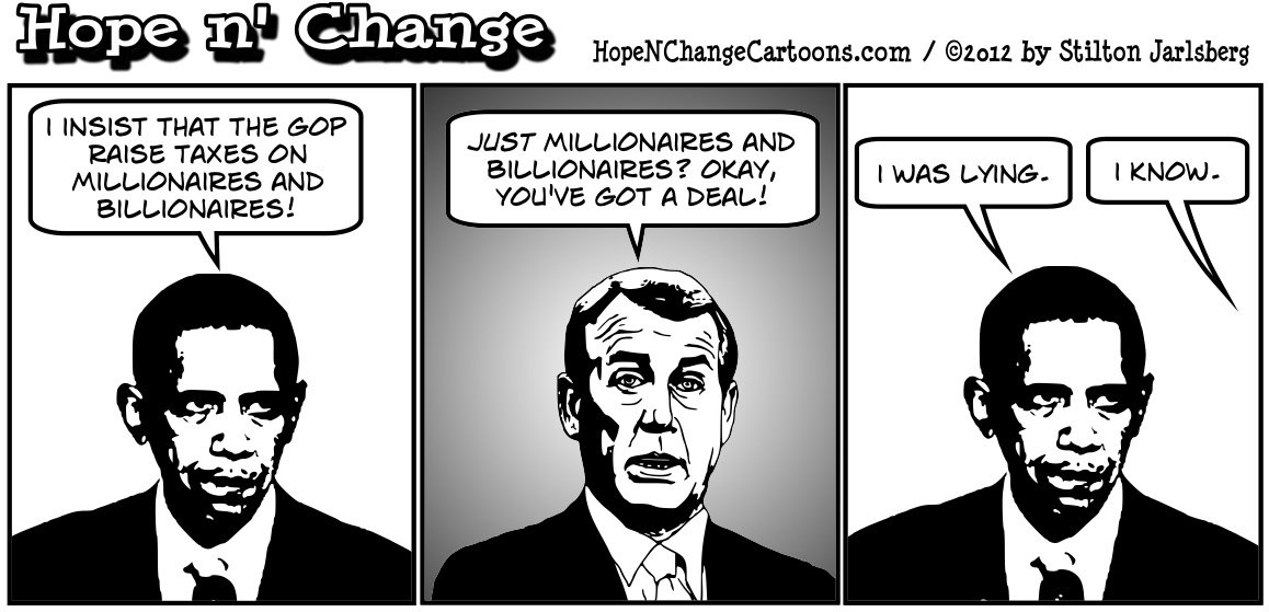 john boehner and barack obamas funny talk about taxes