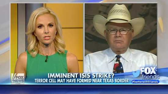 fox news interviews sheriff regarding isis