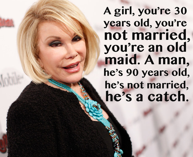 Joan Rivers jokes about marriage