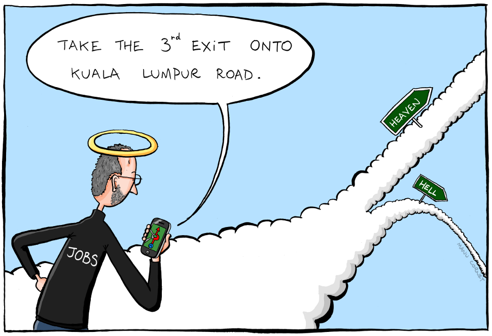 steve-jobs-using-apple-maps-in-afterlife