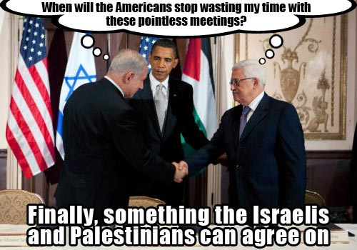 Obama-Negotiating-Between-Palestine-and-Israel-Funny-Parody-News