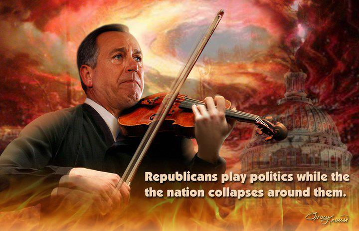 republicans-play-politics-while-the-nation-collapses-funny-satirical-meme
