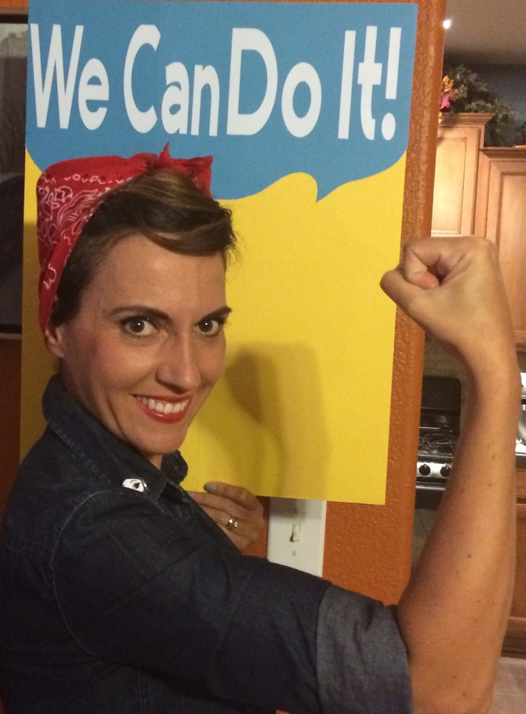 Rosie The Riveter - Halloween Costume
