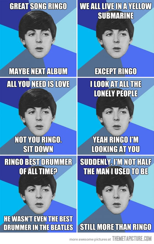 Funny Beatles Quotes by Paul McCartney