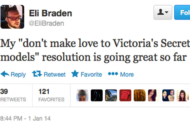 Funny New Years Resolutions From Twitter