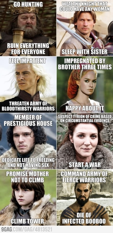 Joke About Game Of Thrones Logic