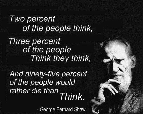 George Bernard Shaw Quotes About People