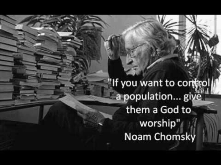 Noam Chomsky Quotes On God