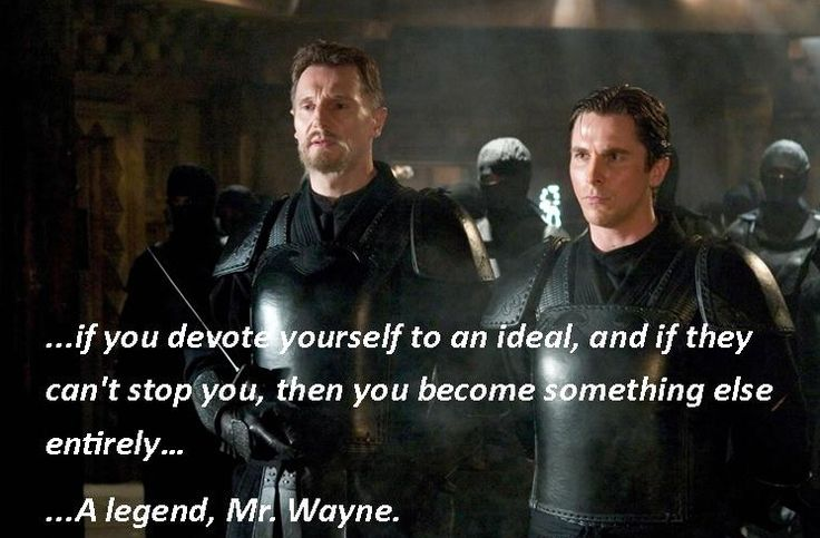 Batman Begins Zitate V...