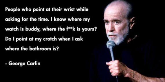 Funny George Carlin Quotes On Life