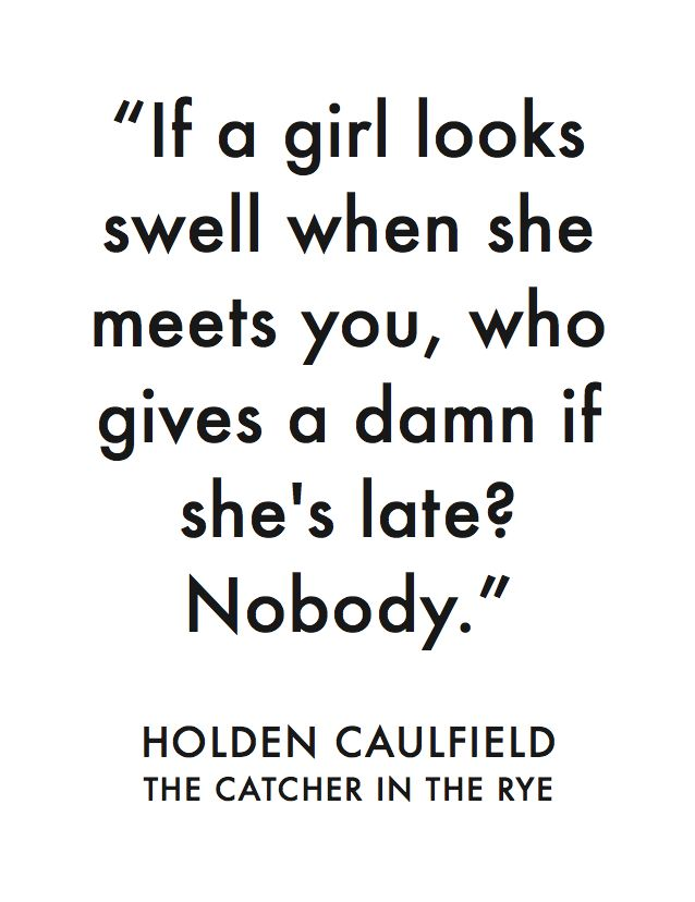 the catcher in the rye by salinger holdens view of the world Free essay: holden's perception of others in catcher in the rye jd salinger's novel catcher in the rye revolves around holden's encounters with other.