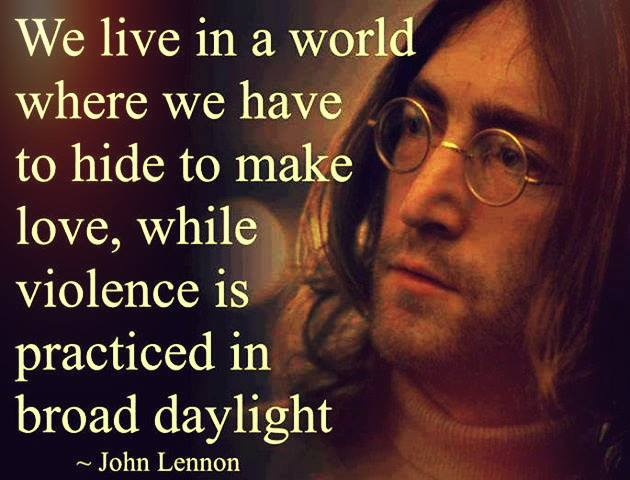 Continue reading these John Lennon love quotes
