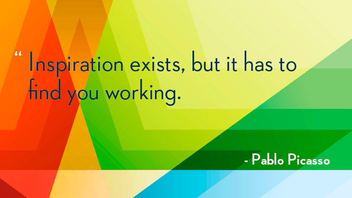 Pablo Picasso Quotes About Inspiration