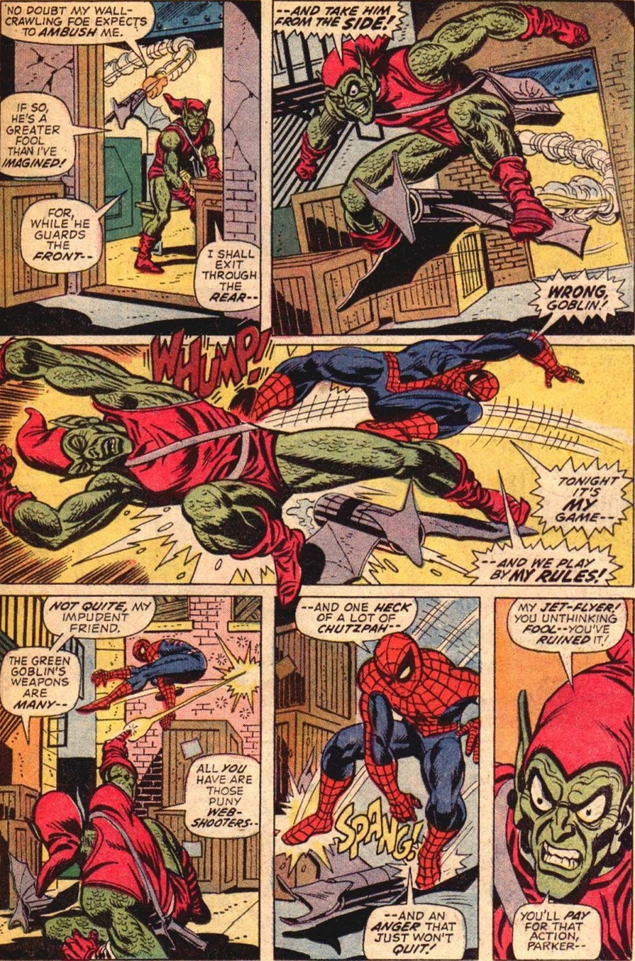 Famous Comic Book Artists - Spider-Man by Gil Kane 1