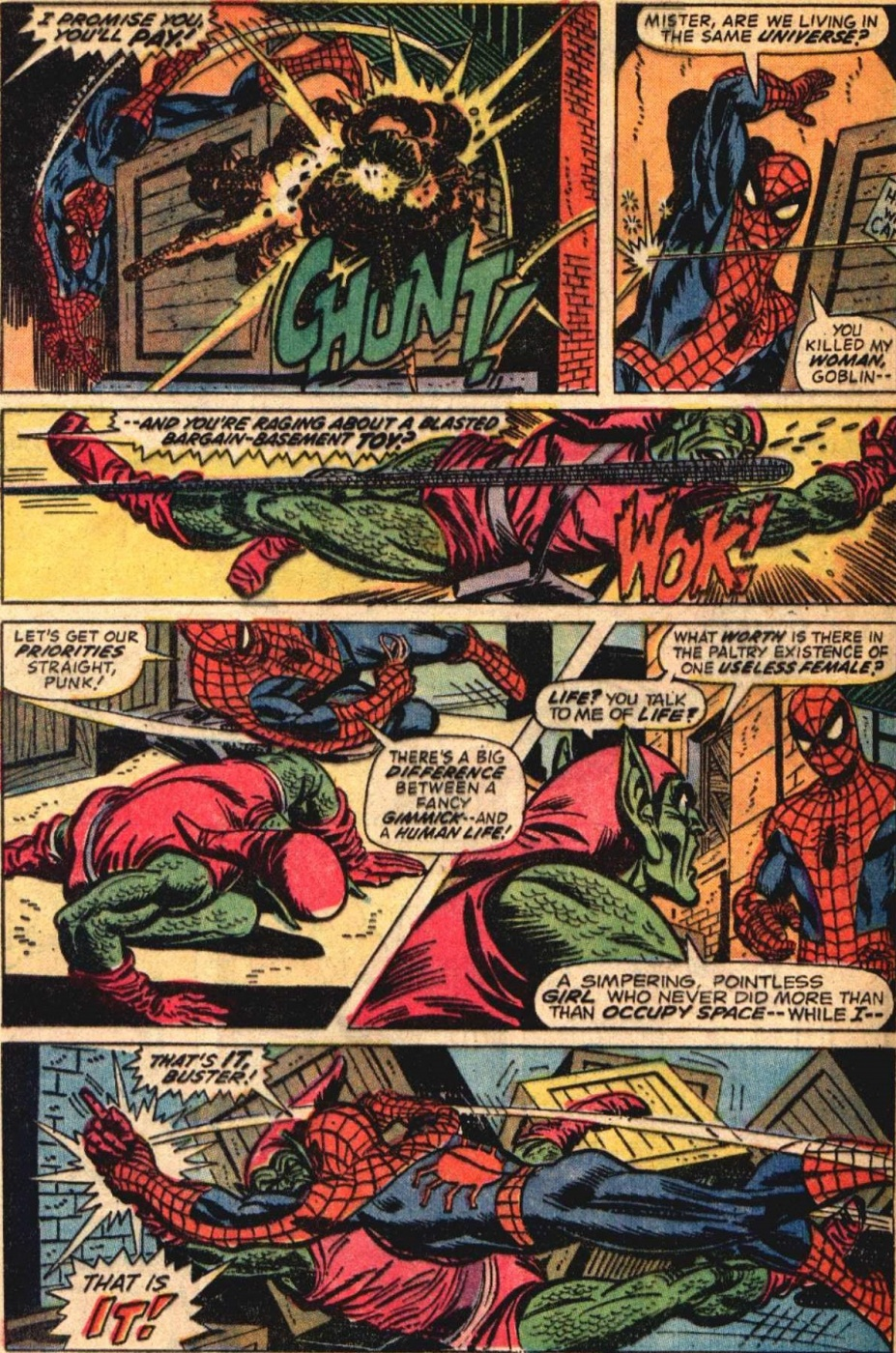Famous Comic Book Artists - Spider-Man by Gil Kane 2