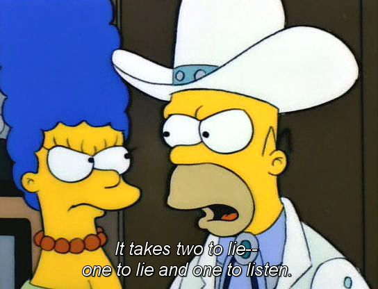 Funny Homer Simpson Quotes About Lying