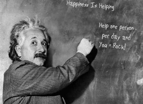 Happiness Is Helping