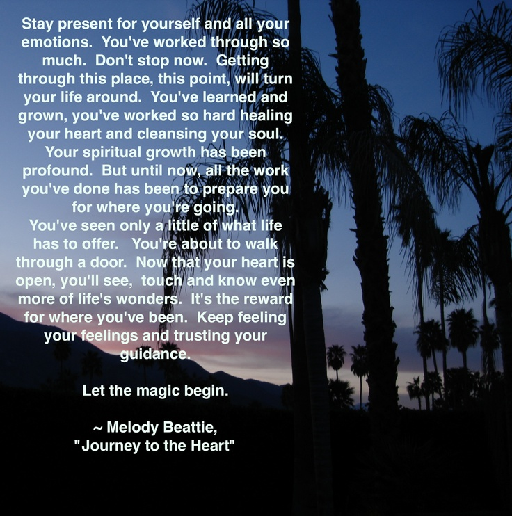 Melody Beattie Quotes From Journey To The Heart
