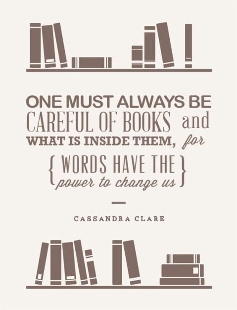 Cassandra Clare Quotes About Books