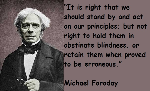Best Michael Faraday Quotes