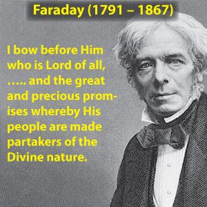 Michael Faraday Quotes About God
