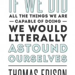 25 Top Thomas Edison Quotes
