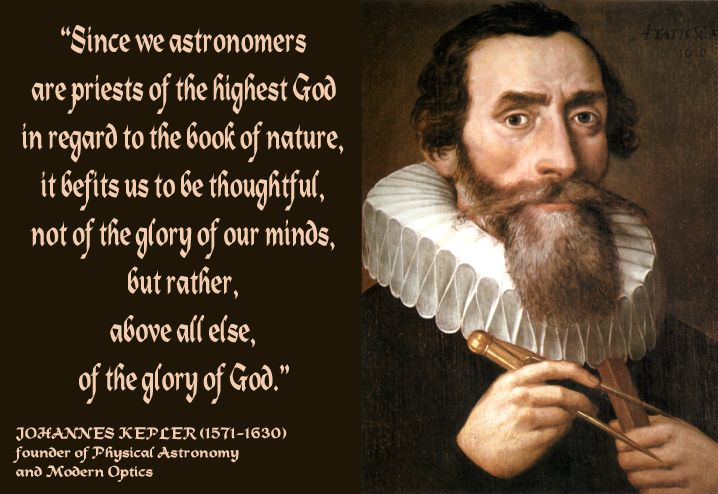 Best Johannes Kepler Quotes