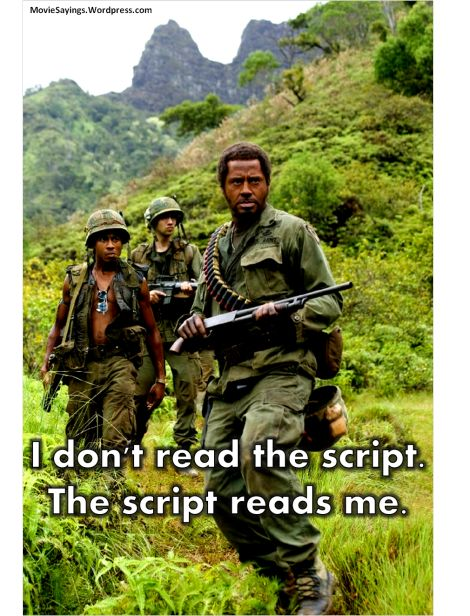 Robert Downey Jr Tropic Thunder Quotes