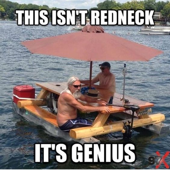 Funny Redneck Jokes About Floating Table