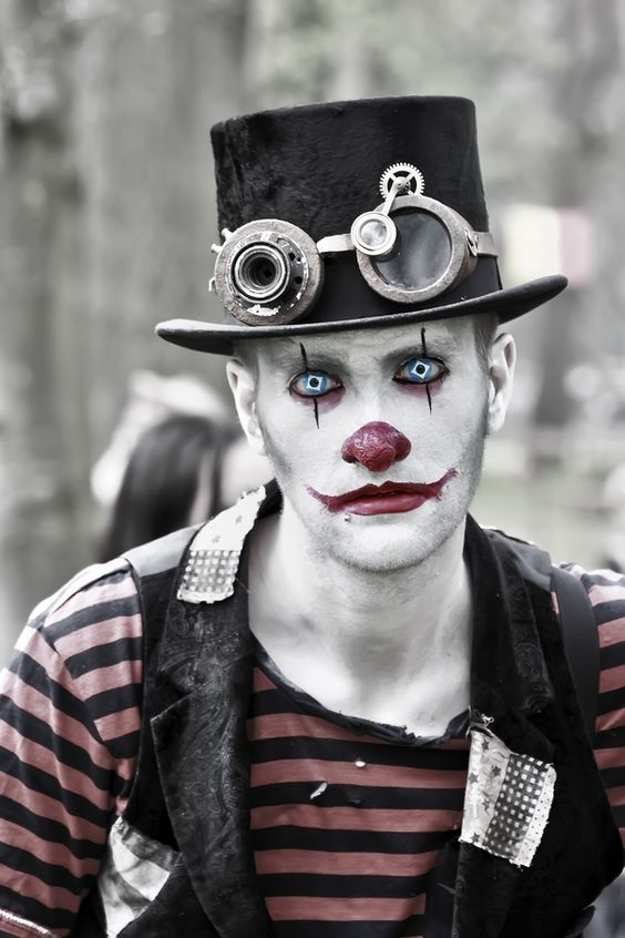 Scary Clown From The Circus