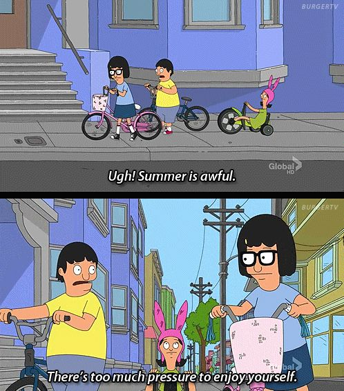Bobs Burgers Quotes About Summer