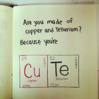 Funny Nerd Jokes About Copper And Tellurium