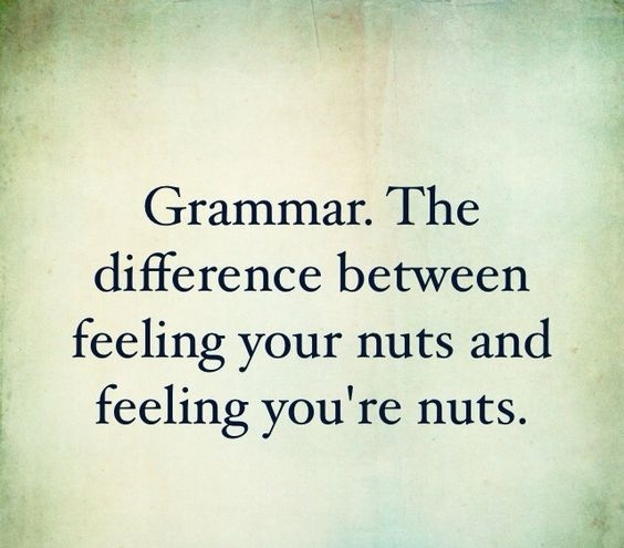 Important Grammatical Difference