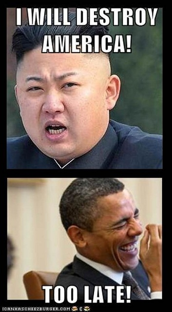 Evil-North-Korean-Dictator-Vs-Barack-Obama