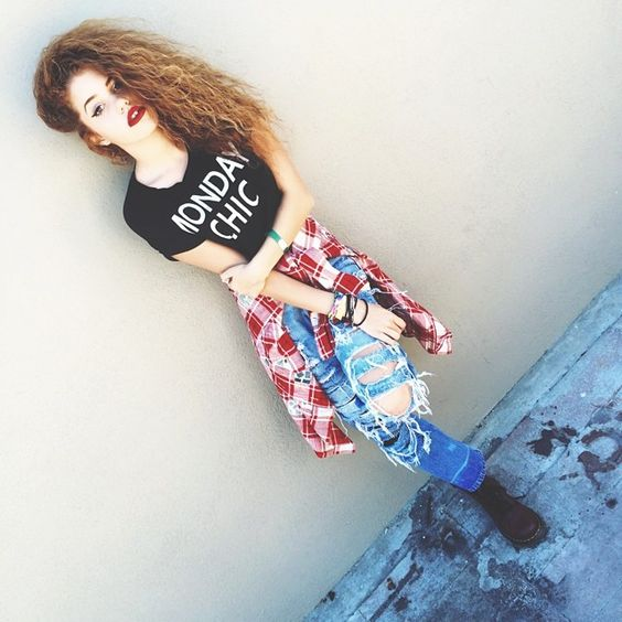 Mahogany Lox In Cool Outfit